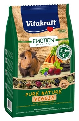 Корм для морских свинок Vitakraft Emotion Pure Nature Veggie