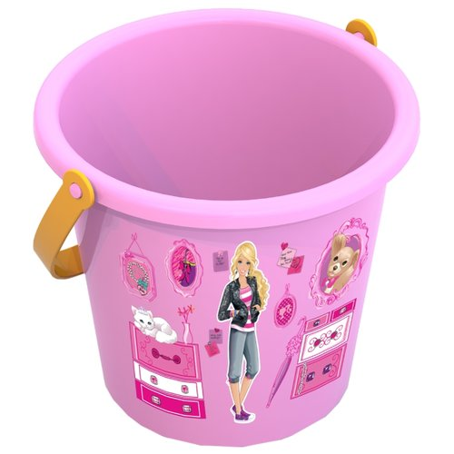 Фото - Ведро Нордпласт 431834 Барби среднее, розовый спортивный инвентарь нордпласт скакалка 220 см
