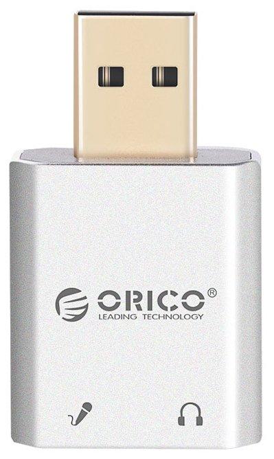 Внешняя звуковая карта ORICO SK02-SV