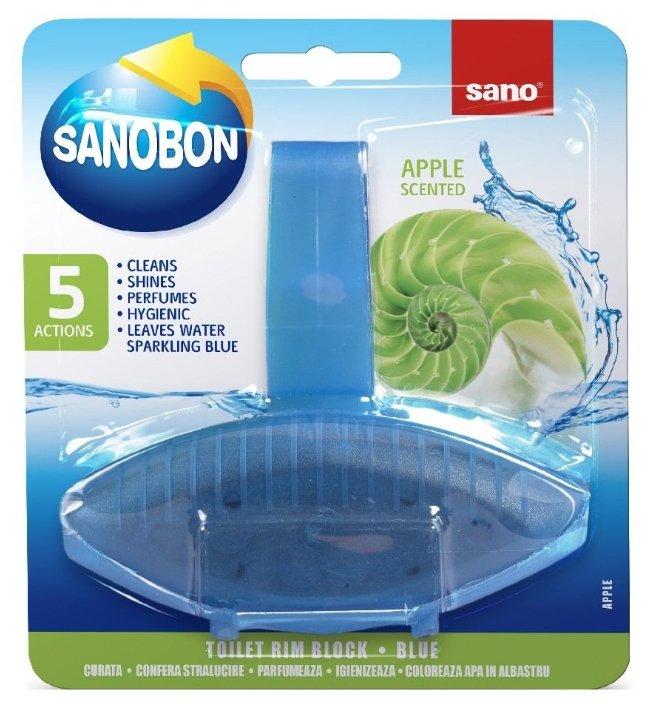 Sano подвеска для унитаза Sanobon Rim Block Blue apple