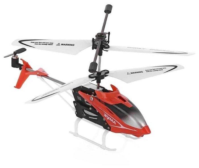 Вертолет Syma гражданский (S5) 23 см красный фото 1