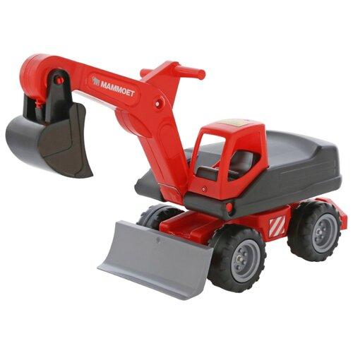 Каталка-толокар Полесье MAMMOET (56740) красный каталка толокар orion toys мотоцикл 2 х колесный 501 зеленый