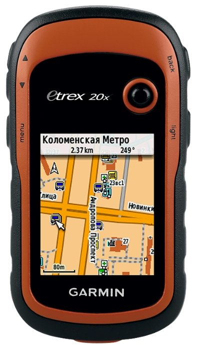 Garmin eTrex 20x GPS GLONASS Russia