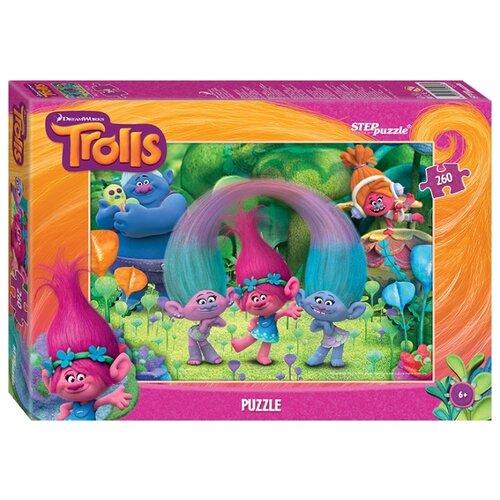 Фото - Пазл Step puzzle DreamWorks Trolls (95053), 260 дет. пазл step puzzle dreamworks trolls 94056 160 дет