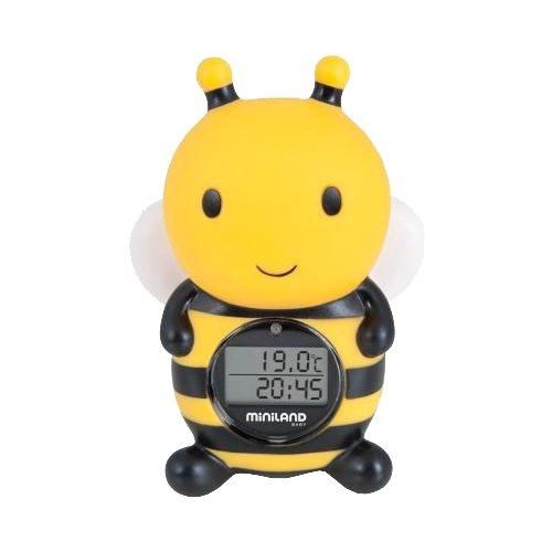 Электронный термометр Miniland Thermo Bath черный / желтый набор игровой miniland miniland mp002xc009ot
