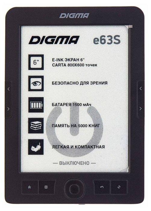 Digma Электронная книга Digma е63S