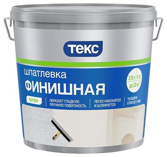 Шпатлевка ТЕКС финишная Профи