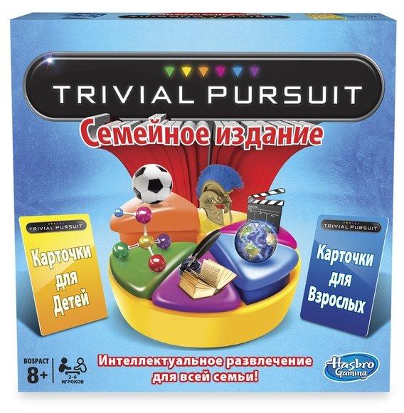 Настольная игра Hasbro games Тривиал Персьюит. Семейное издание 73013
