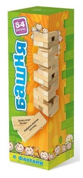 Настольная игра Нескучные игры Башня с заданиями для детей