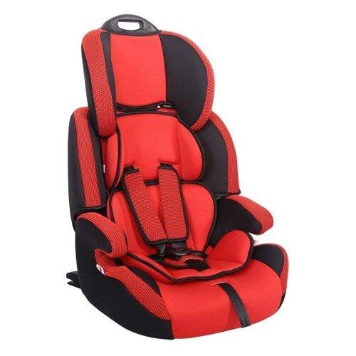 Автокресло группа 1/2/3 (9-36 кг) Siger Стар Isofix, красный автокресло группа 1 2 3 9 36 кг little king lk 03 isofix черный красный