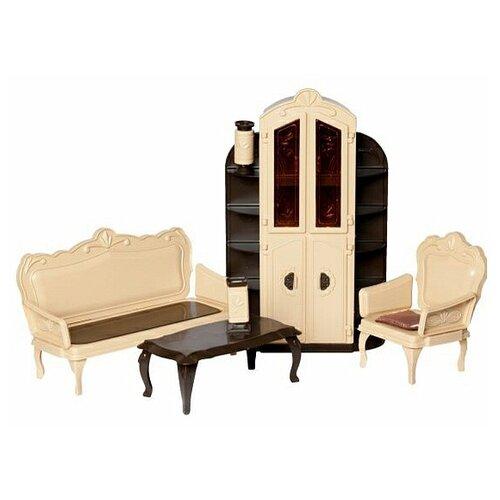 ОГОНЁК Набор мебели для гостиной Коллекция (С-1299) бежевый/коричневый