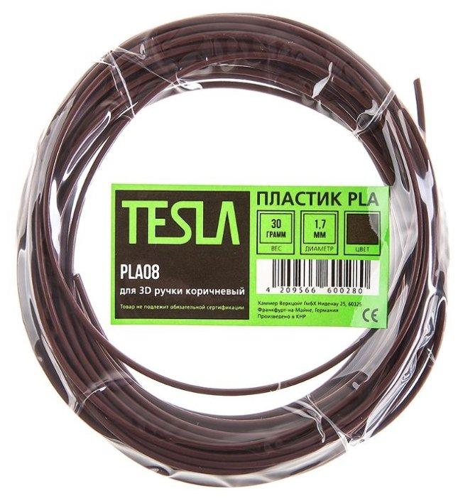 PLA пруток TESLA 1.70 мм коричневый