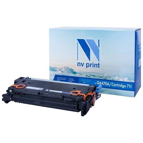 Фото - Картридж NV Print Q6470A/711 Black для HP и Canon, совместимый картридж nv print q7551x для hp совместимый