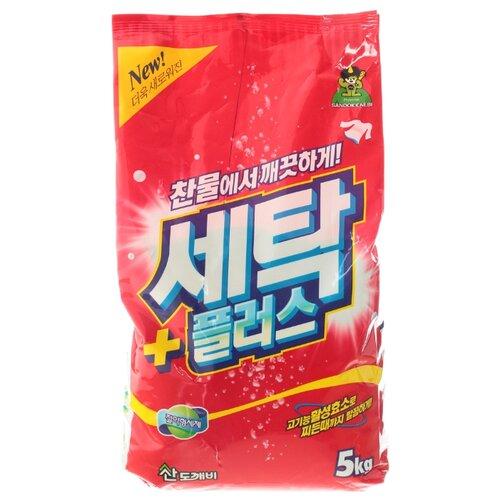 Стиральный порошок Sandokkaebi Se-Plus 5 кг пластиковый пакет стиральный порошок sandokkaebi se plus 3 3 кг пластиковый пакет