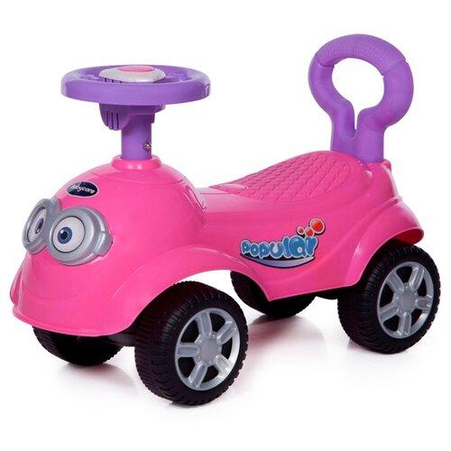 Купить Каталка-толокар Baby Care QT Racer (615B) со звуковыми эффектами розовый, Каталки и качалки