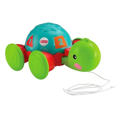 Каталка-игрушка Fisher-Price Черепашка (Y8652) голубой/зеленый fisher price thomas