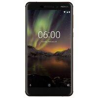 Смартфон Nokia 6.1 (черный)