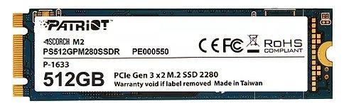 Твердотельный накопитель Patriot Memory PS512GPM280SSDR