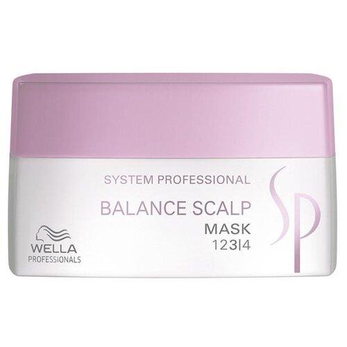 Фото - Wella Professionals SP BALANCE SCALP Маска для чувствительной кожи головы, 200 мл wella professional шампунь wella sp balance scalp для чувствительной кожи 250 мл