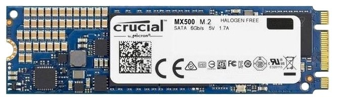 Твердотельный накопитель Crucial CT250MX500SSD4