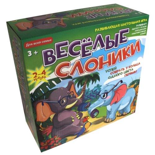 Настольная игра Рыжий кот Веселые слоники ИН-6418 настольная игра рыжий кот космос ин 9182