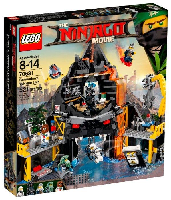 Конструктор LEGO The Ninjago Movie 70631 Логово Гармадона в жерле вулкана фото 1