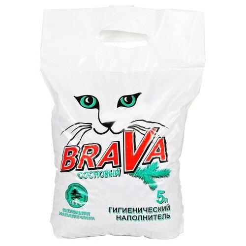 Впитывающий наполнитель Brava Сосновый, 5 л