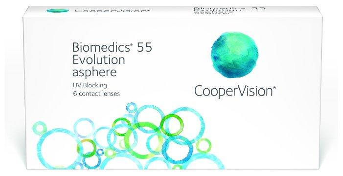 CooperVision Biomedics 55 Evolution UV (6 линз)