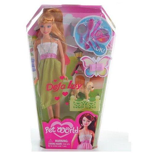 цена на Кукла Defa Lucy Любительница собак 8073
