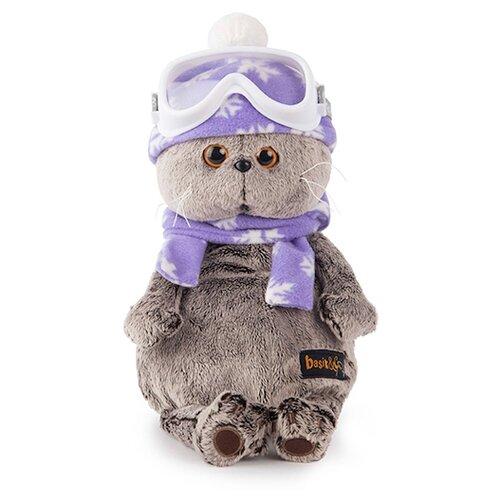 Купить Мягкая игрушка Basik&Co Кот Басик лыжник 25 см, Мягкие игрушки