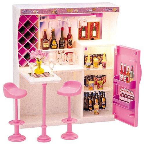 Купить Dolly Toy Весёлая вечеринка (DOL0803-011) белый/розовый, Мебель для кукол