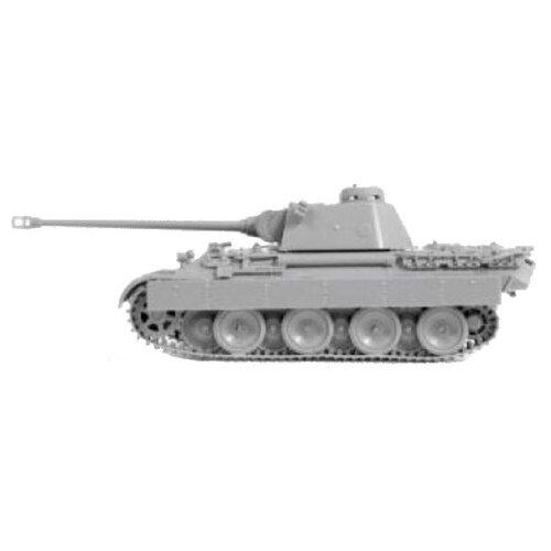 Купить Сборная модель ZVEZDA Немецкий средний танк T-V Пантера Ausf.D (5010) 1:72, Сборные модели