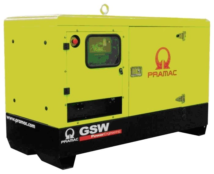 Дизельная электростанция Pramac GSW 22 Y 400V в кожухе с АВР