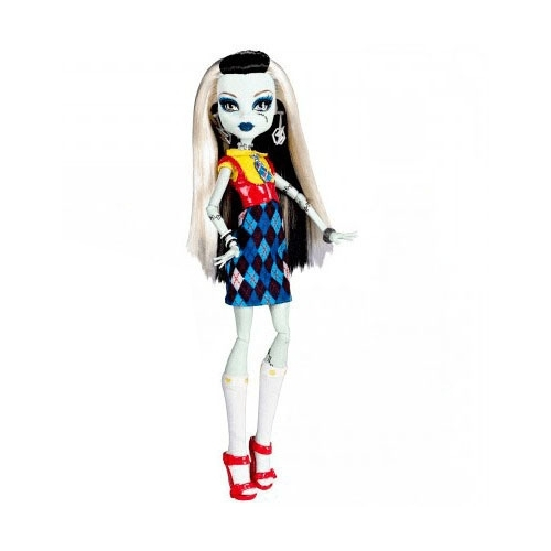 Кукла Monster High Я люблю моду Фрэнки Штейн, 27 см, X4491