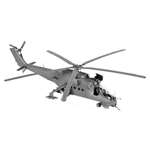 Купить Сборная модель ZVEZDA Советский ударный вертолет Ми-24В/ВП Крокодил (7293) 1:72, Сборные модели