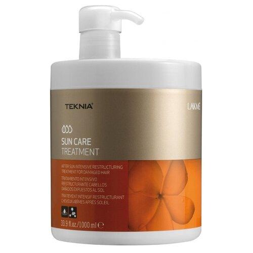 Lakme Teknia Sun Care Treatment Средство для интенсивного восстановления поврежденных солнцем волос, 1000 мл косметика lakme купить