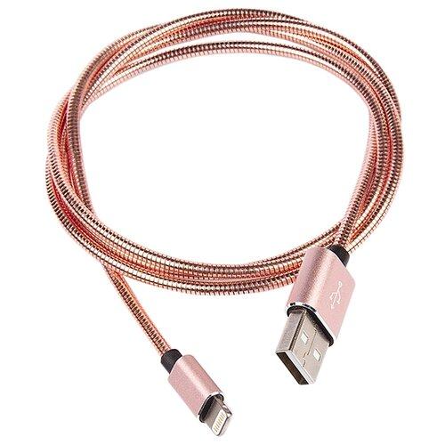 Кабель Rombica Digital USB - Lightning MFI (IS-01/02/03) 1 м розовый
