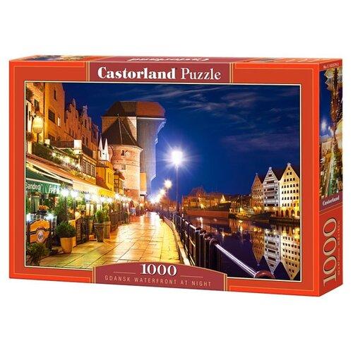 Купить Пазл Castorland Gdansk Waterfront at Night (C-103379), 1000 дет., Пазлы