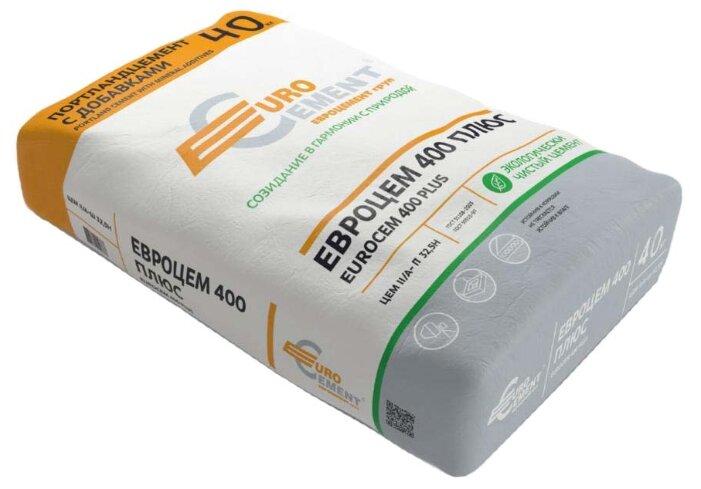 Цемент Евроцемент ЦЕМ II/А-П 32,5Н 40 кг. М400