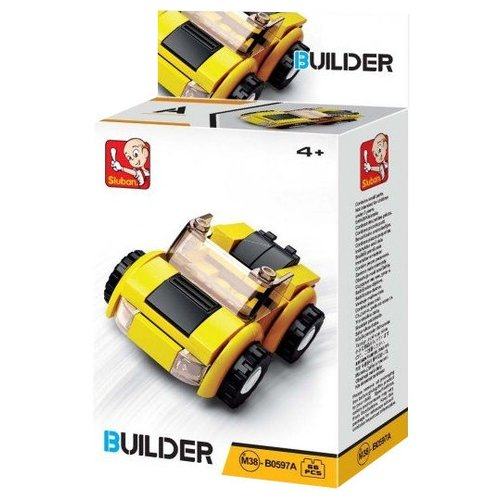 Купить Конструктор SLUBAN Builder М38-В0597A Транспорт, Конструкторы