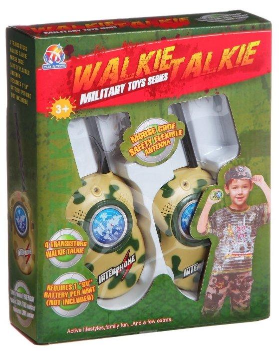 Рация Shenzhen Jingyitian Trade Walkie Talkie Military 008A