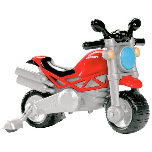 Купить Каталка-толокар Chicco Ducati Monster (71561) со звуковыми эффектами красный/черный, Каталки и качалки
