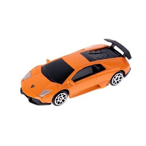 цена на Легковой автомобиль Autogrand Jeans 3 Lamborghini Murcielago LP670-4 (49428) 1:64 оранжевая