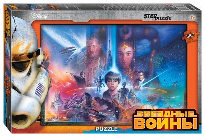 Пазл Step puzzle Disney Звёздные войны (97036), 560 дет.