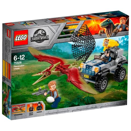Купить Конструктор LEGO Jurassic World 75926 Погоня за Птеранодоном, Конструкторы