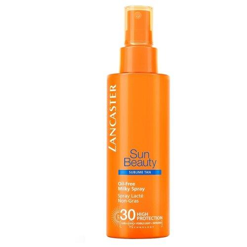 Lancaster Sun Beauty солнцезащитное молочко-спрей для тела SPF 30 150 мл