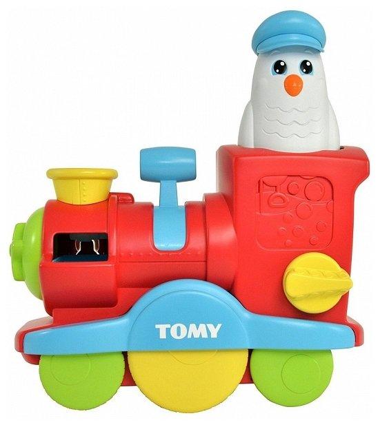 Игрушка для ванной Tomy Веселый паровозик (E72549)