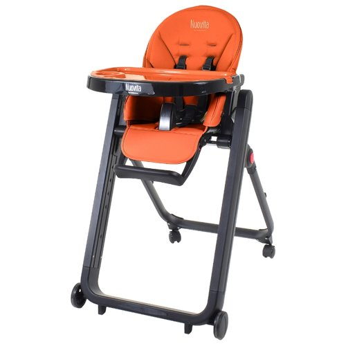 Растущий стульчик Nuovita Futuro Senso arancione nero
