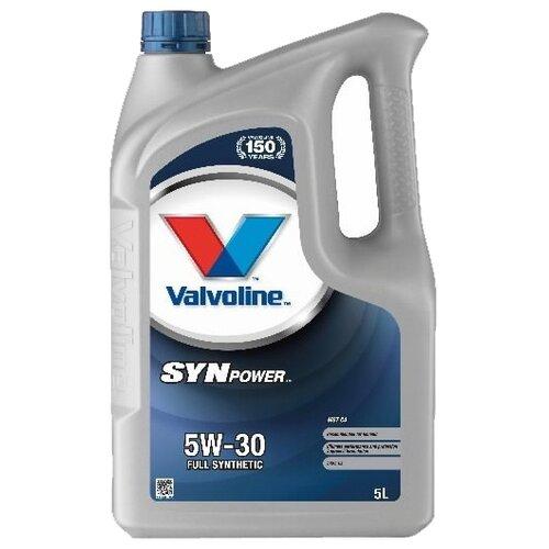 Моторное масло VALVOLINE SynPower MST C4 5W-30 5 л force 4243 5