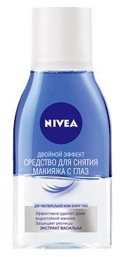 Nivea средство для снятия макияжа с глаз Двойной эффект